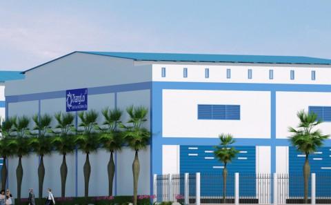 Nhà xưởng tiền chế khung thép, nhà công nghiệp nhiều tầng